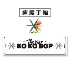 Kpop EXO THE WAR KOKOBOP Support Banner BAEKHYUN CHANYEOL SEHUN D.O.