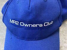 Toyota MR2 Owners Club Baseball Cap Hat One Size