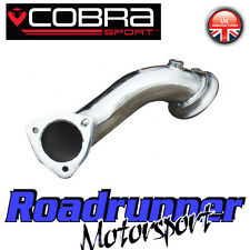 "Cobra Sport Zafira DECAT GSi-VXR exhaust PRE CAT DOWNPIPE 2.5"" - 1st supprimer pipe"