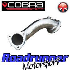 """VX01c MK5 cobra Sport Astra VXR Pre Gato De-Cat Bajante Tubo de escape 2.5"""" eliminar"""