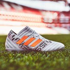 adidas Nemeziz 17.1 FG Mens Football Boots White Orange RRP £220 SIZE 6-10