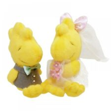 New Snoopy Woodstock Wedding PRSN01029673 Peanuts Cute Yelow Plush Doll Japan