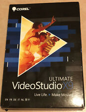 BRAND NEW Corel VideoStudio Ultimate X9  ( VSPRX9ULMLMBAMC) FREE SHIPPING