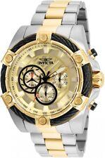 New Mens Invicta 25518 Bolt Chronograph Steel Bracelet Watch