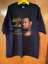 Men's Sugar Shane Mosley vs Shannan Taylor Welterweight Championship shirt - XL