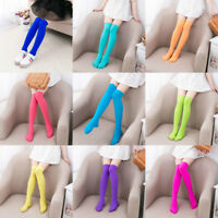 Children Over The Knee Thigh High Stretch Girls Cotton Socks