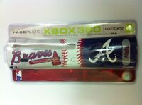 NEW Official Atlanta Braves MLB Faceplate  for Microsoft XBOX 360