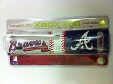 8 en gros lot de NEUF Officiel Atlanta Braves MLB PLAQUE FRONTALE POUR XBOX 360