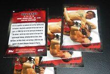 Dan Hardy 2010 Topps UFC Card #13 146 120 111 105 99 95 89 Fight Night Live Fuel