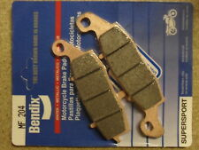 BENDIX 204-MF DL 1000 V-STROM 2007 HIGH PERFORMANCE SINTERED FRONT CALIPER PADS