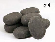 Masaje De Piedras Calientes: 4 de basalto grandes piedras - 7,5 X 5,5 X 2.75 Cm