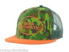 DUCK DYNASTY WOODLAND CAMO SNAPBACK CAP HAT NEW W/TAGS ADJUSTABLE