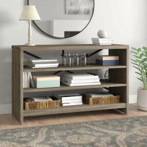 80LBS Heavy Duty 3 Tier Console Table Shelf TVstand Sofa Entryway Hall Furniture