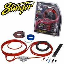 STINGER SK4681 4000 Series 8 Gauge AWG 600 Watts Car Amp Amplifier Wiring Kit