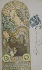 Carte postale origniale Alfons MUCHA début XX°s P1634