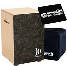 Planta de golpe 4006 CP Cajon la perú Night Burl + KEEPDRUM gig bag + cp-01 Pad