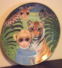 Margaret Keane, Franklin Mint Plate, Jennifer's Jungle, Gentle Kingdom