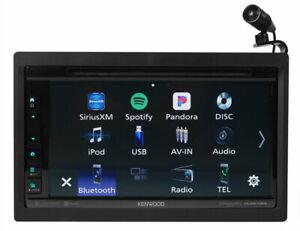 Kenwood DDX6706S Apple CarPlay Android Auto Bluetooth CD DVD Player Radio USB