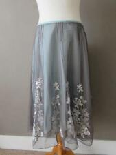Viscose Party Floral Flippy, Full Skirts for Women