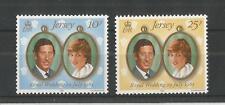Jersey 1981 Royal boda SG, 284-285 Um/M N/H Lote R81