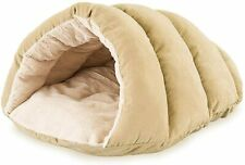 Durable Cozy Covered Sleeping Cushion Cuddle Cave Dog Bed For Small Dogs Cats