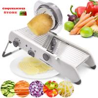 Mandoline Trancheuse Professionnel Eminceur Coupe-Légumes Cuisine Multifonction