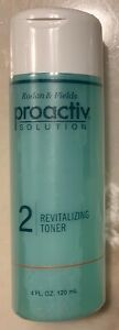 New PROACTIV REVITALIZING TONER 4 oz 60 Day Bottle Step 2 Sealed Acne Treatment
