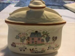 Vintage Heartland Country Home Napkin Holder Jamestown China Dinnerware