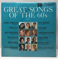 Great Songs Of The 60's Volume 1 CSP 292 Record Lp Sealed