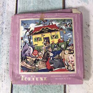 Vintage Langley Series Noah's Ark 150 Piece Jigsaw Puzzle Complete