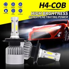 2x H4 LED Headlight Bulb Motorcycle Kit HB2 9003 Hi/Low Beam Lamp 6500K 390000LM