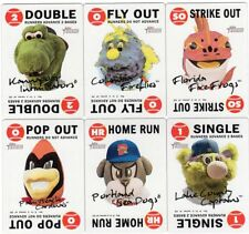 2017 TOPPS HERITAGE MINOR LEAGUE 1968 GAME MASCOTS  U PICK COMPLETE YOUR SET