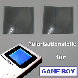 🆙 Polarisationsfolie Polifolie für Backlight Nintendo GameBoy Classic / Pocket