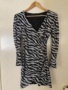 Bardot Sequin Dress 10