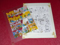 [ Bd ] Marciales/Tony Laflamme Volapük Lámina Colores Celuloide Original 1974 (6