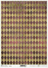 Reispapier-Motiv Strohseide-Decoupage-Serviettentechnik-Vintage-Shabby-19081