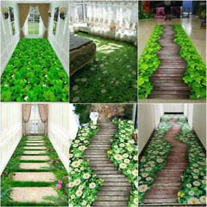 3d corridor mat Area Rug Carpet Hallway Floor Anti-slip Doormat Balcony