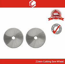 22mm Cutting Saw Blade for Wood & Plastic fits Rotary Tools - Pack of 2nos
