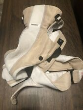 Baby Bjorn Carrier Mesh One Air White Gray Tan Light 8-25 lbs Multiple Positions
