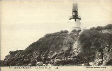 Saint Nazaire France Liighthouse Le Phare de Leve c1915 Postcard
