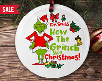 How The Grinch Stole Christmas! - Christmas Ceramic Ornament