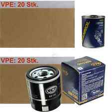 20 X Original Sct Filtro de Aceite Sm 106 + 20 X Motor Flusch Lavado
