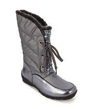 Sporto® Jamie Waterproof Lace-Up Boot, Graphite 9W