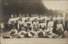 WWI German Batmen Konigsbruck Germany Photog Real Photo Postcard