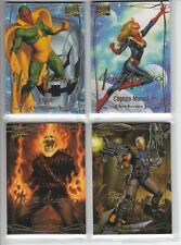 2016 Marvel Masterpieces GOLD Signature #1-81 Full 81-Card Set - Combo Ship NM