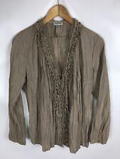 STREET ONE Bluse, braun, Größe 36, Baumwollmischung