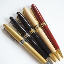 JINHAO Ballpoint Pen Bamboo/Red Wood/Black/Gold 0.7mm CT/GT G2 Black Blue Ink UK