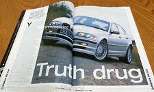 BMW Car 1999 - E36 M3 v E36 Evo - AC Schnitzer styling E36 M3  Alpina E46 B3 3.3
