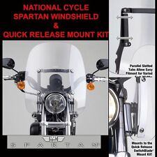 HARLEY XL1200N / XL883N NIGHTSTER/IRON 2007-14 NC SPARTAN SHIELD N21202 & MOUNT