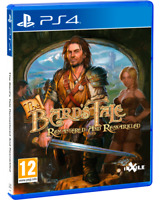 The Bard's Tale Remastered Red Art Games PlayStation 4 Region Free New